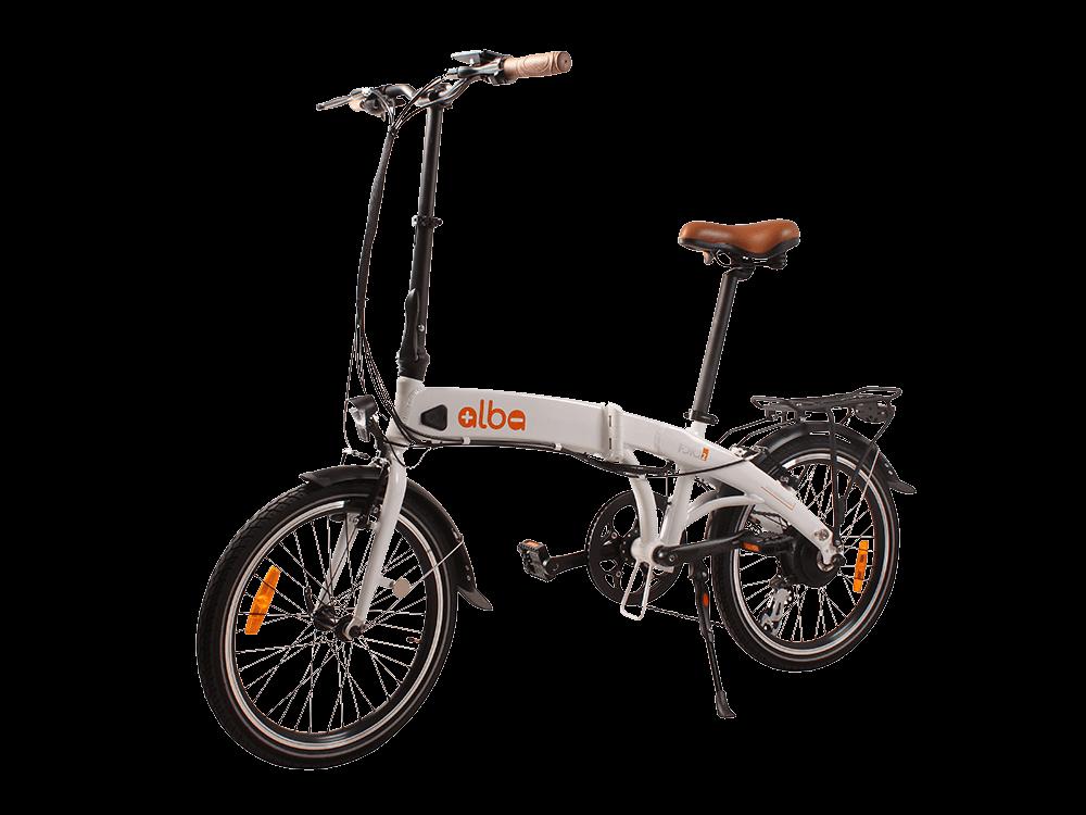 Alba Fold 2 LCD Göstergeli Katlanır Elektrikli Bisiklet