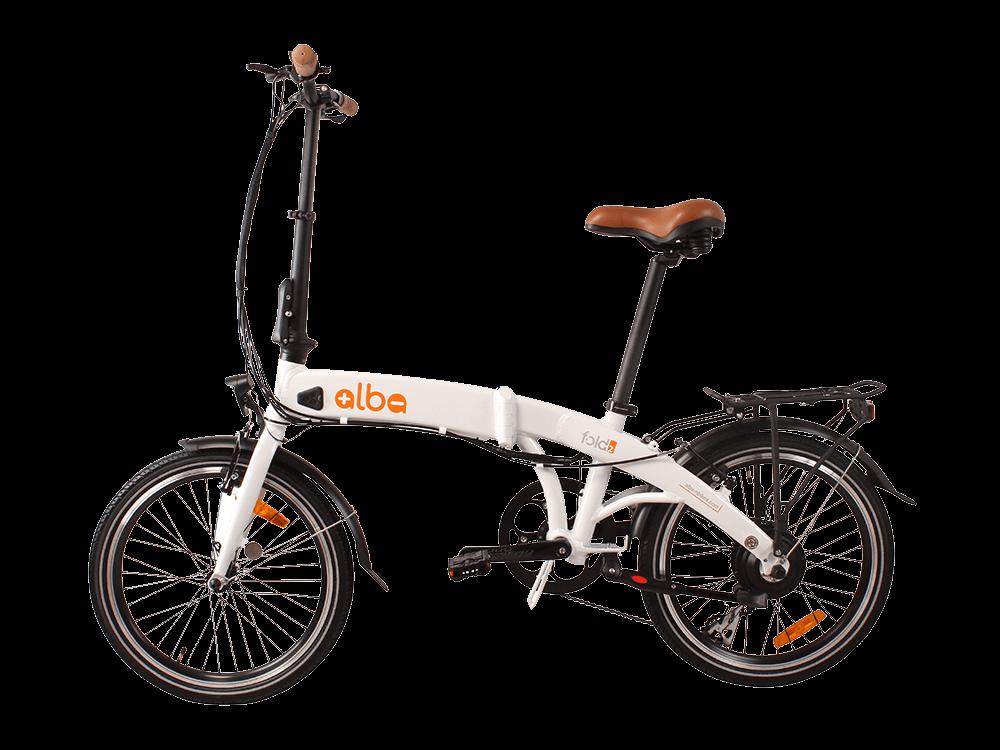 Alba Fold 2 LED Göstergeli Katlanır Elektrikli Bisiklet