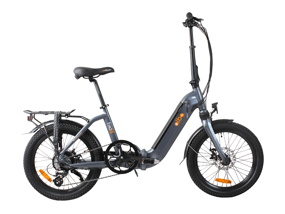 Alba Fold X LED Göstergeli Katlanır Elektrikli Bisiklet