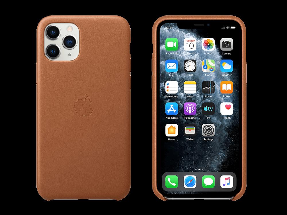 Apple iPhone 11 Pro Max Deri Kılıf