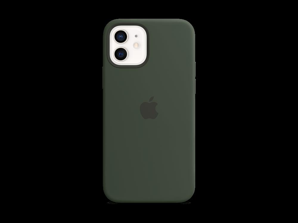 Apple iPhone 12/12 Pro MagSafe Silikon Kılıf