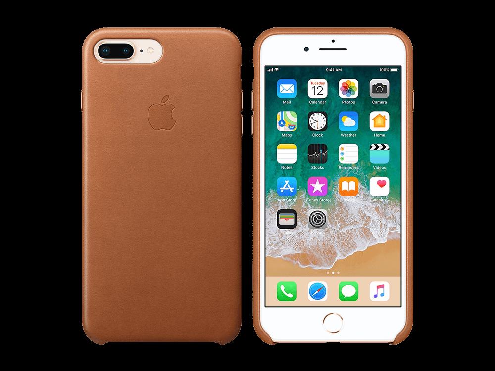 Apple iPhone 8 Plus/7 Plus Deri Kılıf