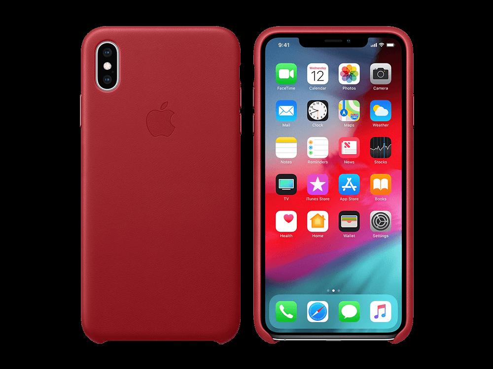 Apple iPhone Xs Max Deri Kılıf