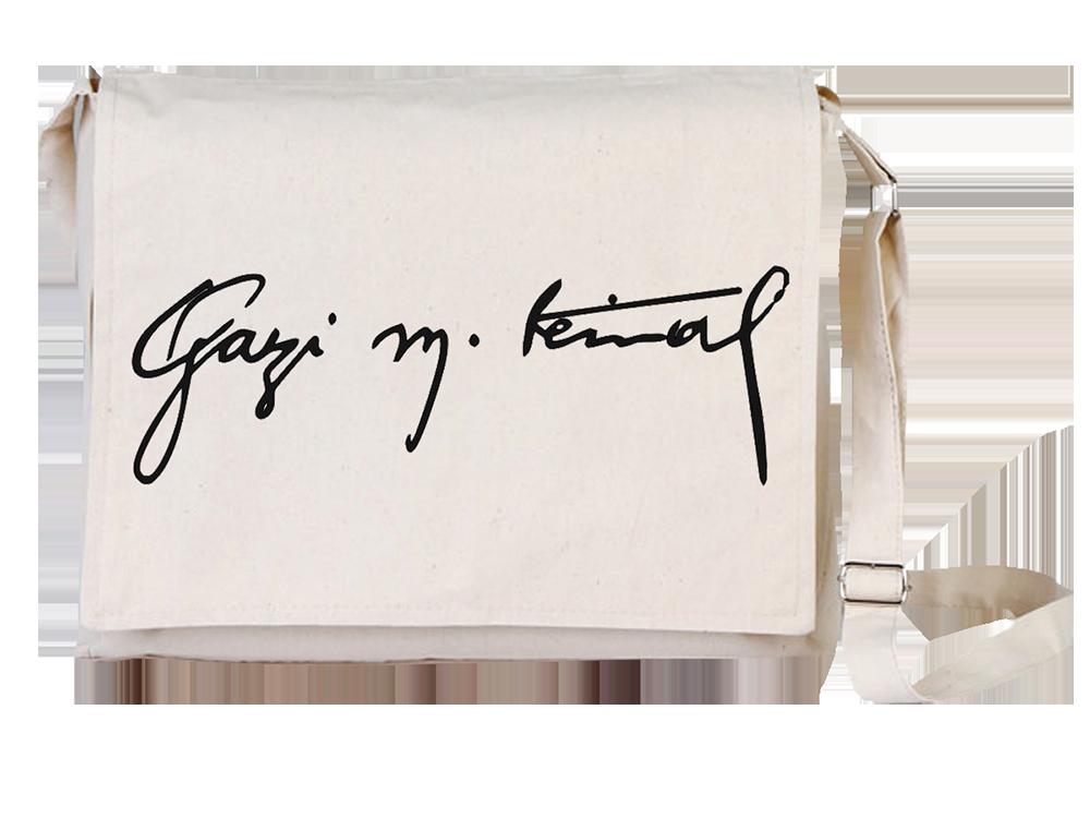 Arts Atatürk Canvas Universal Tablet Laptop Çantası