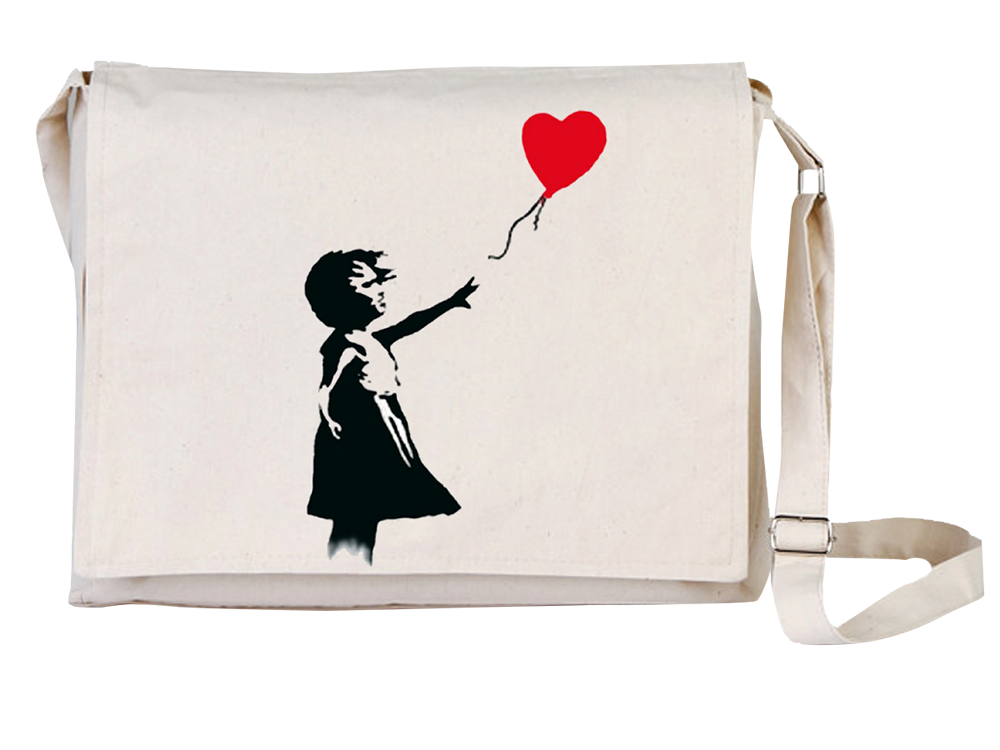 Arts Balloon Girl Universal Tablet Laptop Çantası