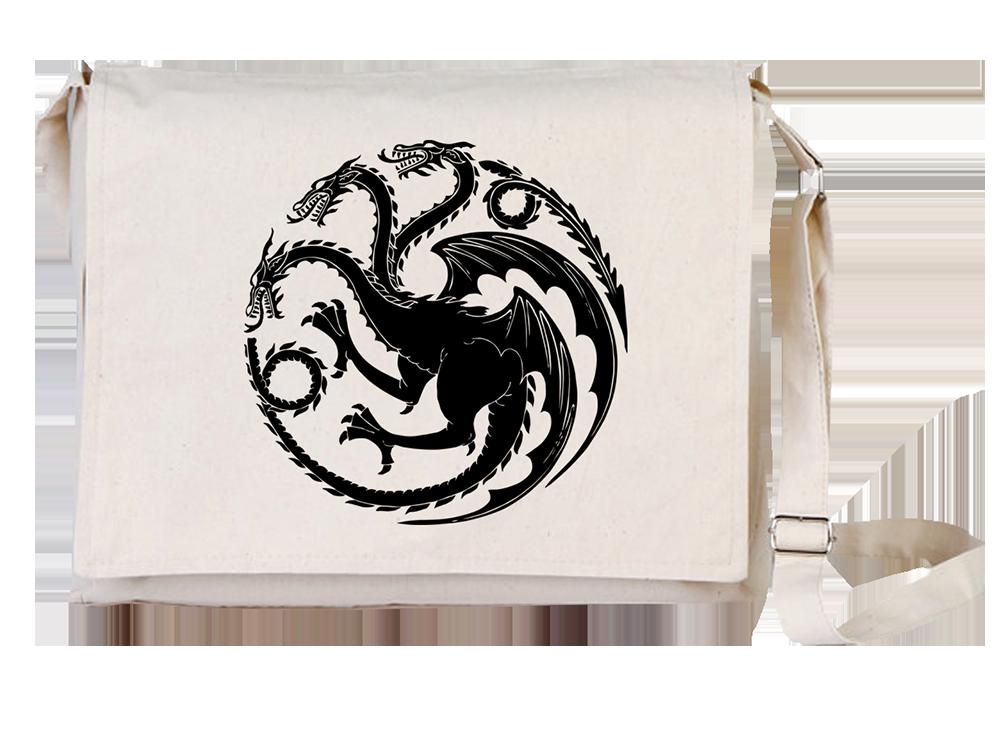 Arts Dragons Canvas Universal Tablet Laptop Çantası