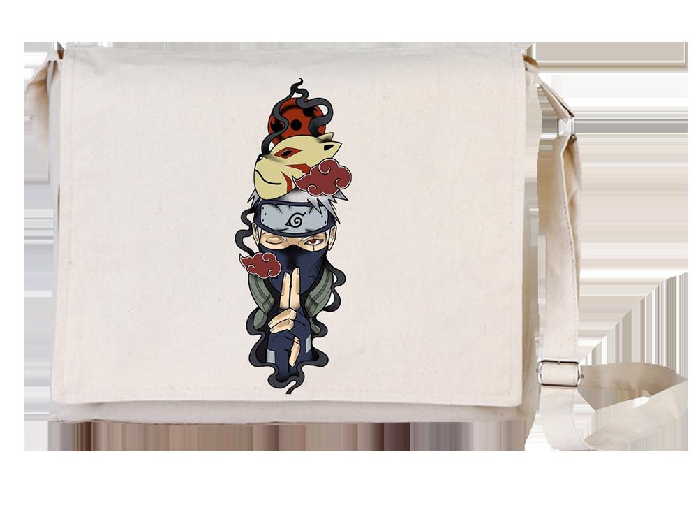 Arts Naruto Canvas Universal Tablet Laptop Çantası