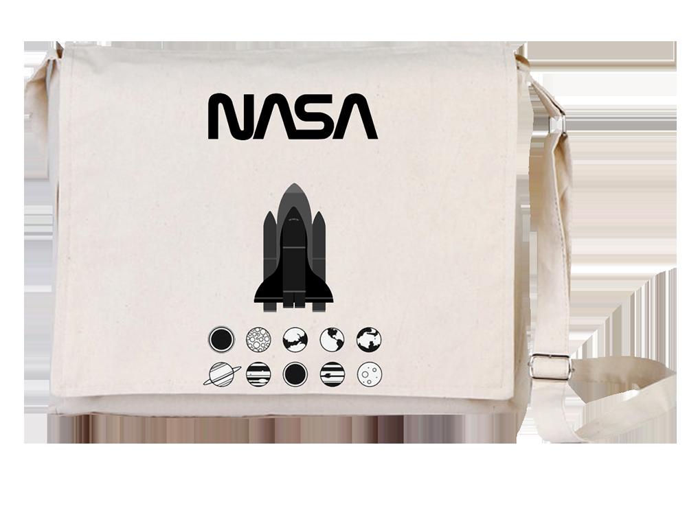 Arts Nasa Canvas Universal Tablet Laptop Çantası