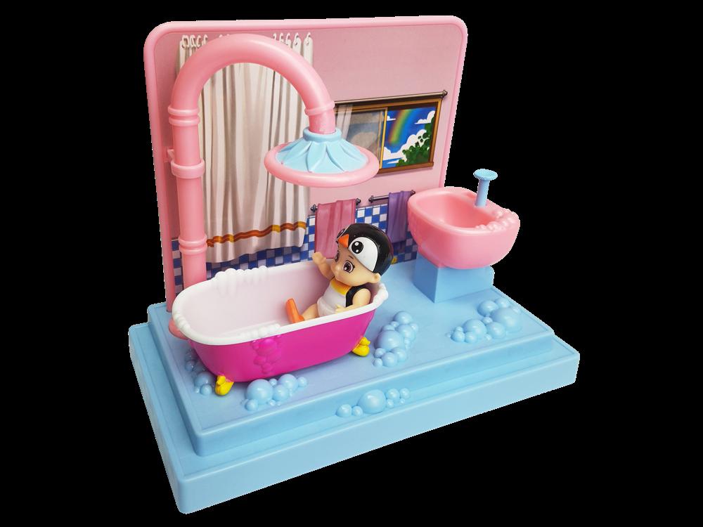 Baby Secrets Sürpriz Figür ve Banyo Oyun Seti 76924