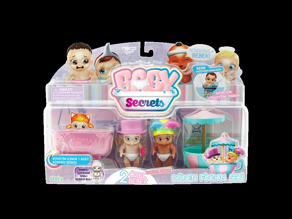 Baby Secrets Sürpriz Figür ve Dönen Fincan Seti 77583-3