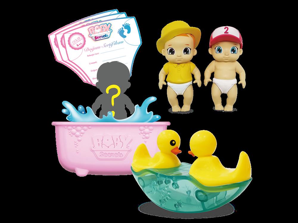 Baby Secrets Sürpriz Figür ve Ördekli Tahterevalli Seti 77583-4
