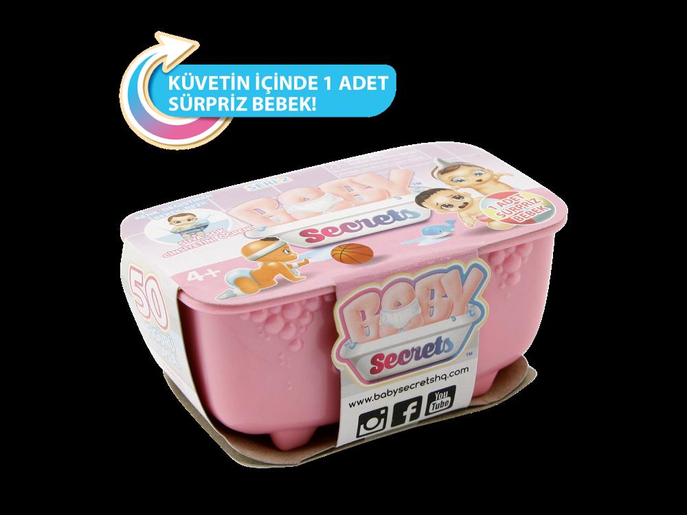 Baby Secrets Sürpriz Figür ve Salıncaklı Koltuk Seti 77583-1