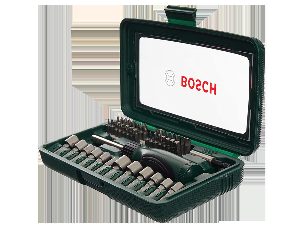 Bosch 46 Parça Tornavidalı Vidalama ve Lokma Ucu Seti