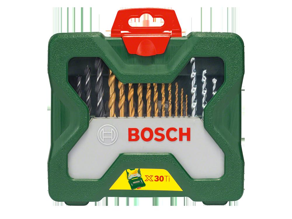 Bosch-X-Line 30 Parça Titanyum Karışık Aksesuar Seti