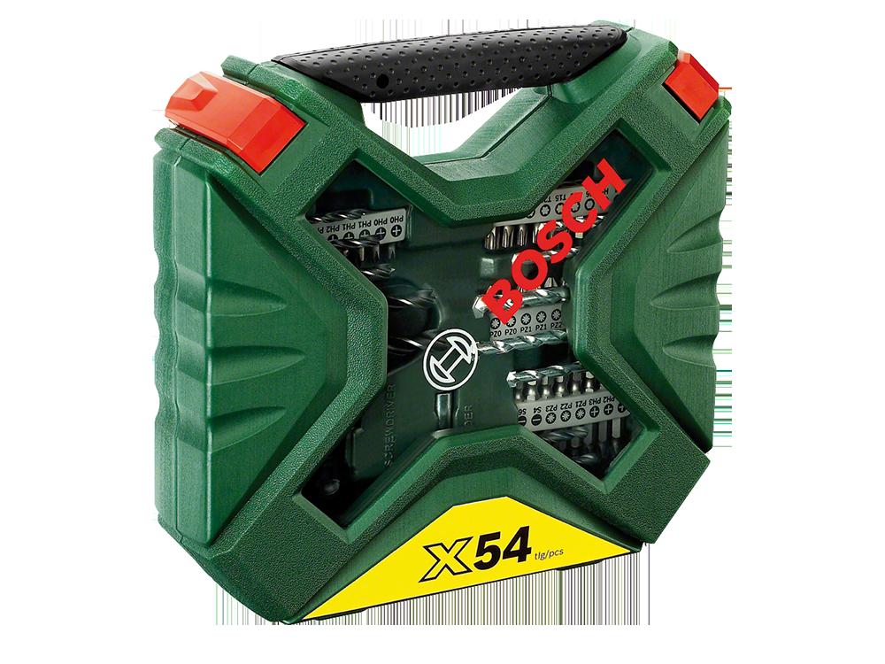 Bosch-X-Line 54 Parça Cırcır El Tornavidalı Karışık Aksesuar Seti