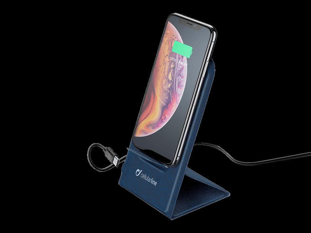 Cellularline 10W Katlanabilir Kablosuz Şarj Standı