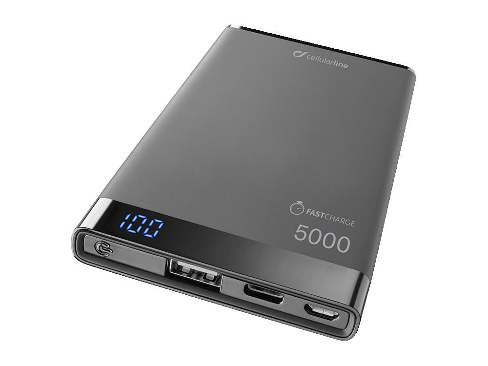 Cellularline Freepower Manta S Taşınabilir Şarj Cihazı 5000 mAh