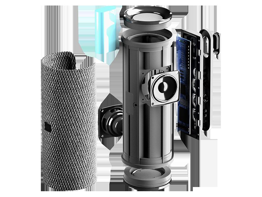 Cellularline Hurricane 20W Çift Sürücülü IPX7 Bluetooth Hoparlör