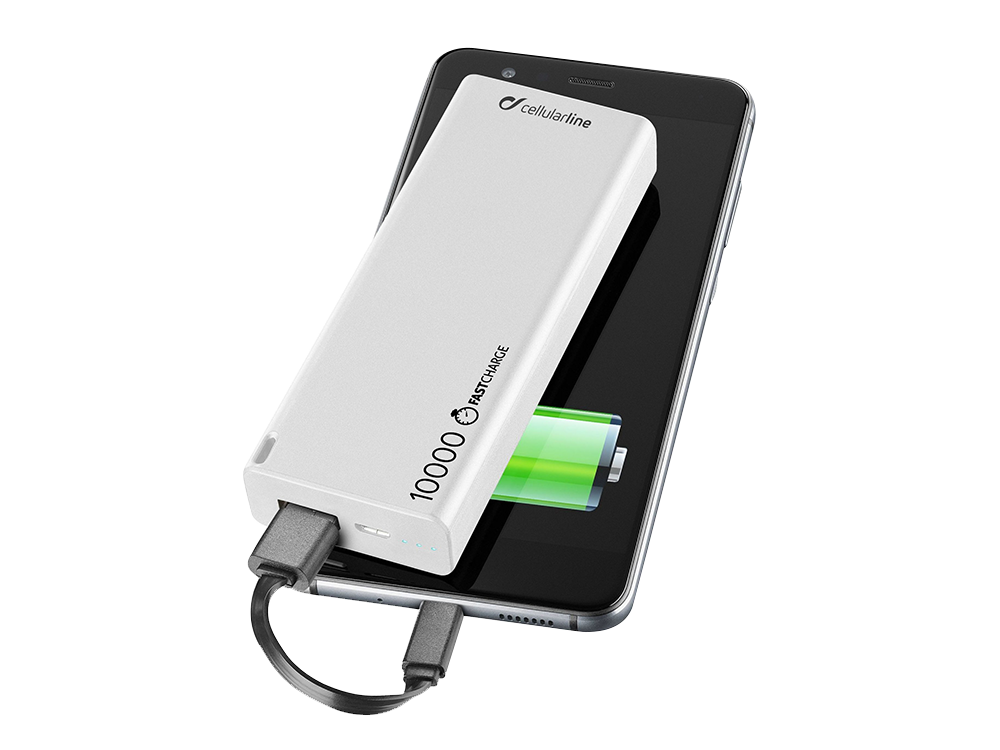 Cellularline İnce Taşınabilir Şarj Cihazı 10000 mAh