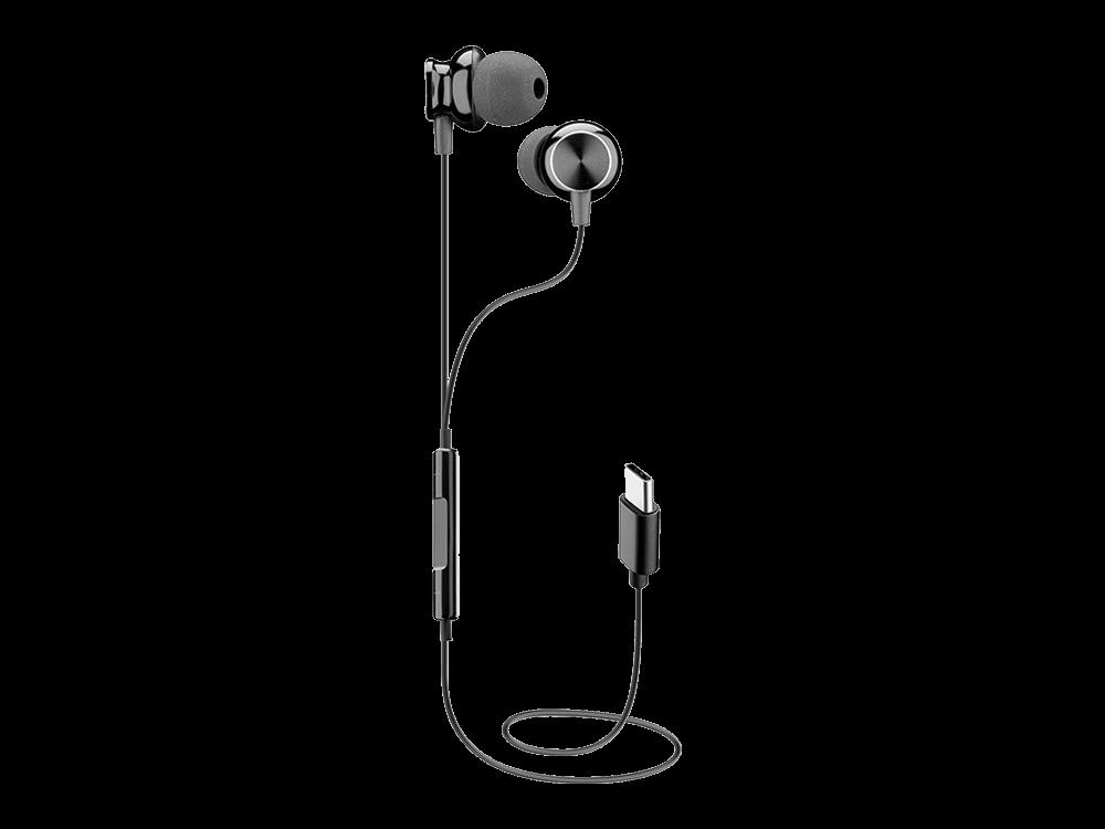 Cellularline Sparrow Mikrofonlu Type-C Kablolu Kulak İçi Kulaklık