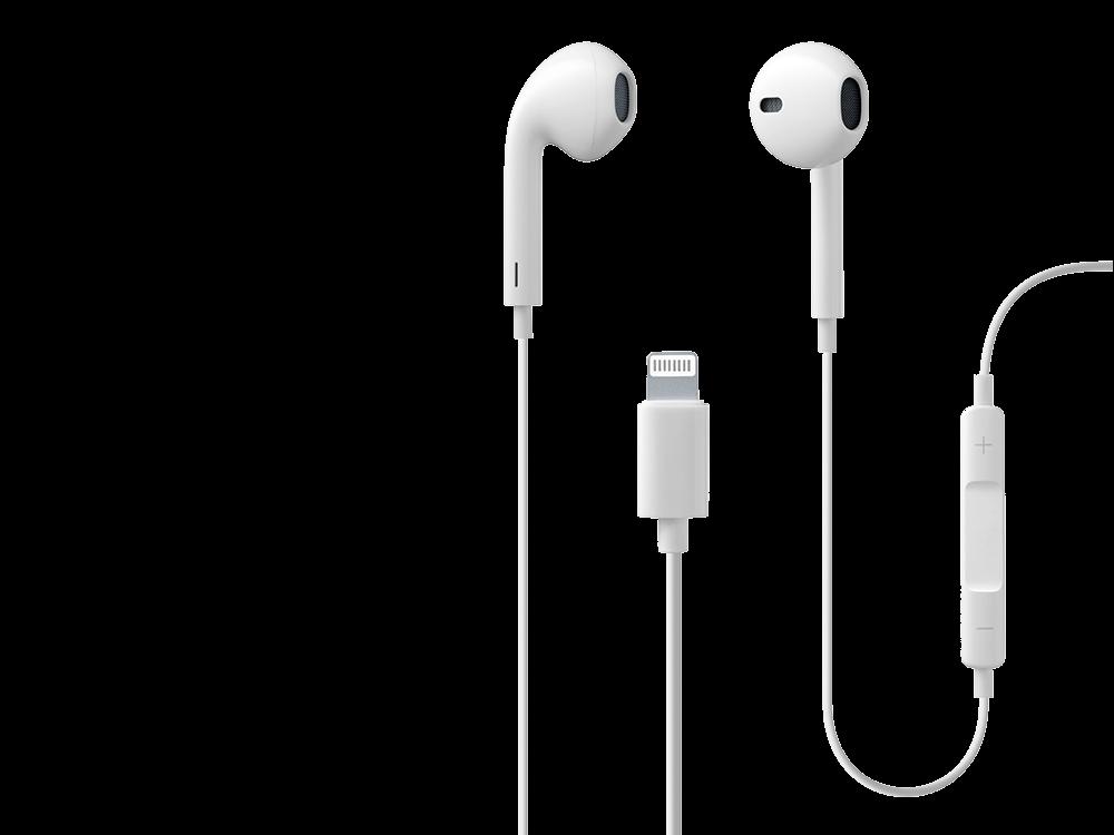 Cellularline Swan Mikrofonlu Lightning Kablolu Kulak İçi Kulaklık (MFI Lisanslı)