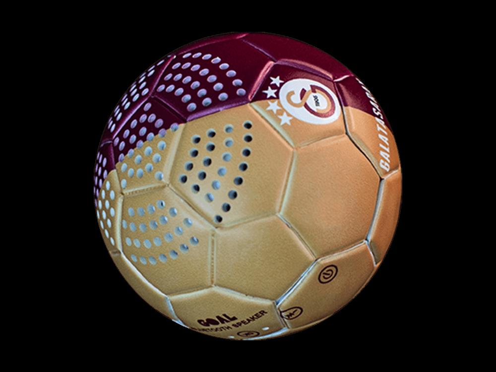 Doppler Galatasaray Lisanslı Futbol Topu Bluetooth Hoparlör