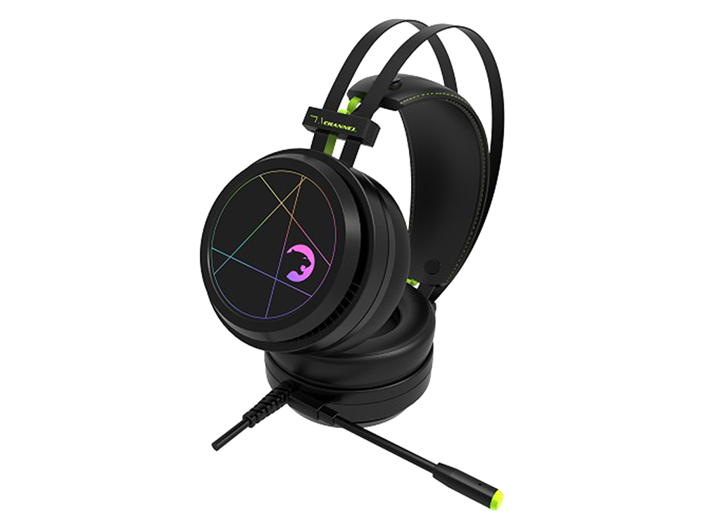 GamePower Medusa 7.1 Rainbow Kulak Üstü Oyuncu Kulaklığı