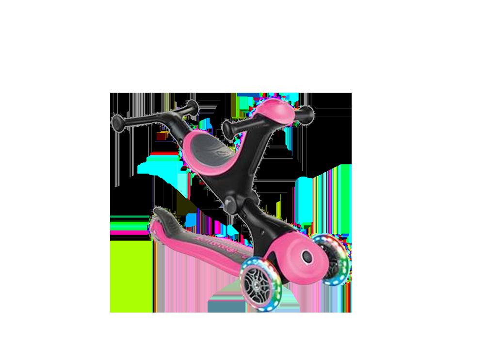 Globber Go Up Deluxe Işıklı Teker Scooter