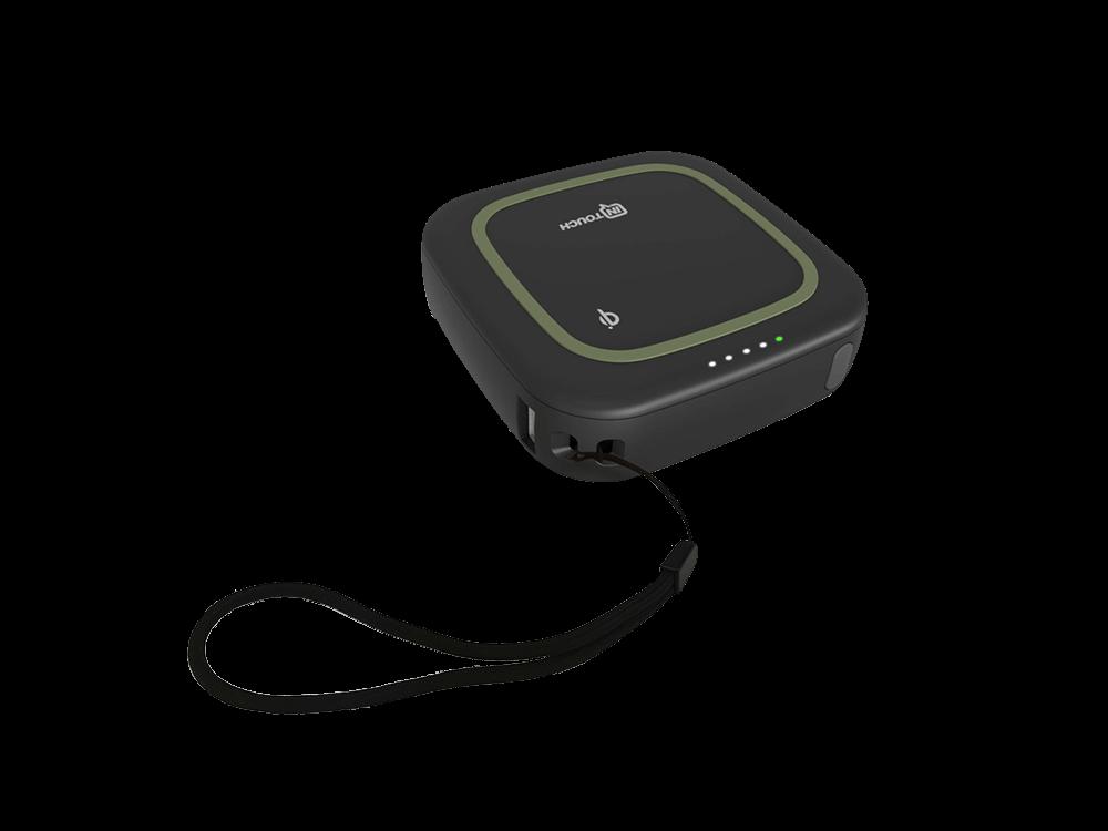 Intouch Cube Kablosuz Taşınabilir Şarj Cihazı 10000 mAh