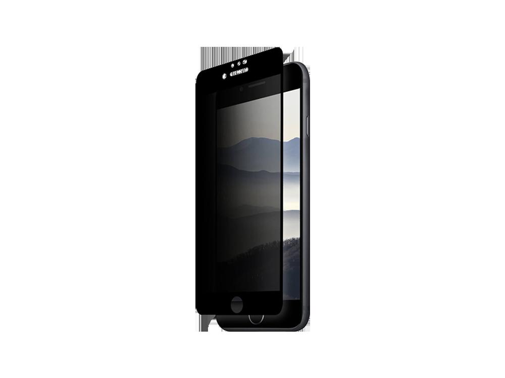 Intouch iPhone 7/8 3D Karartmalı Cam Ekran Koruyucu