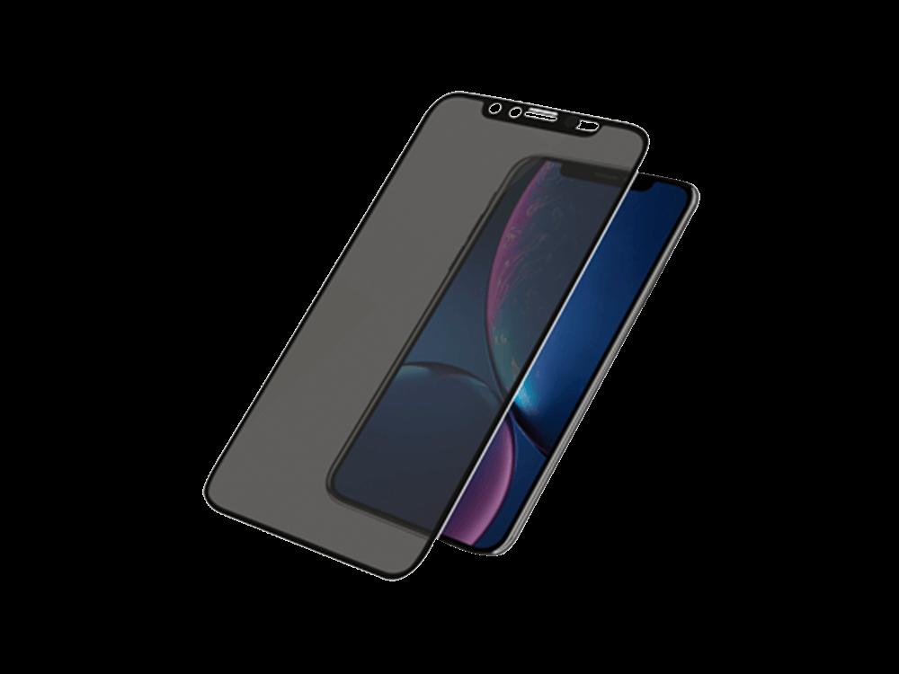 Intouch iPhone XR 3D Karartmalı Cam Ekran Koruyucu