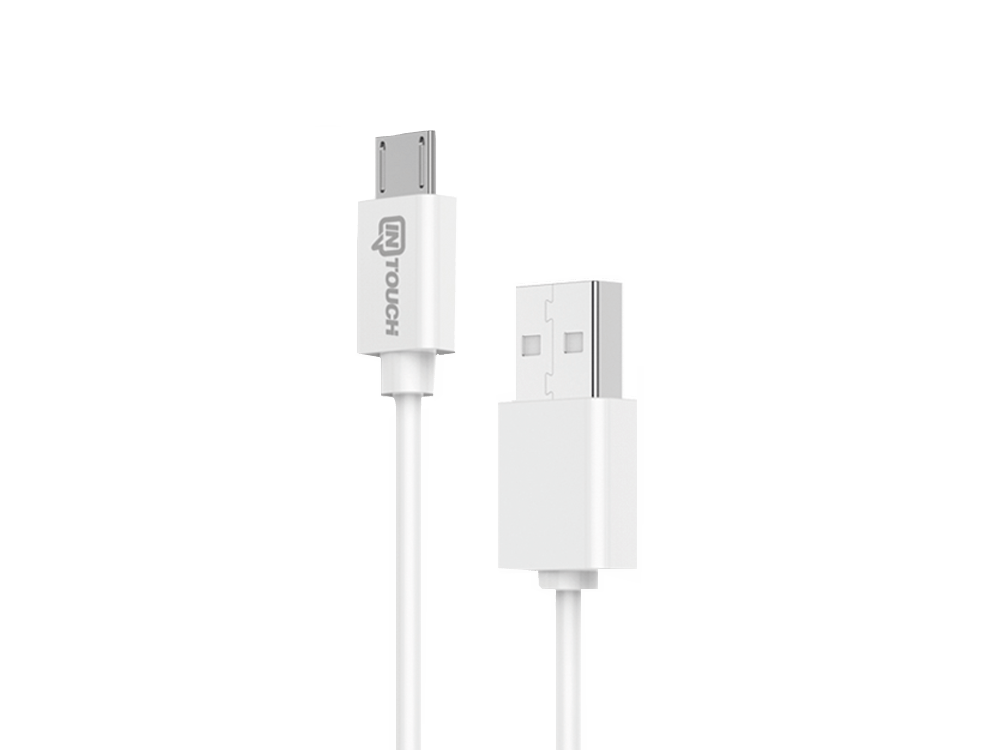Intouch Micro USB Kablolu Hızlı Seyahat Şarj Cihazı