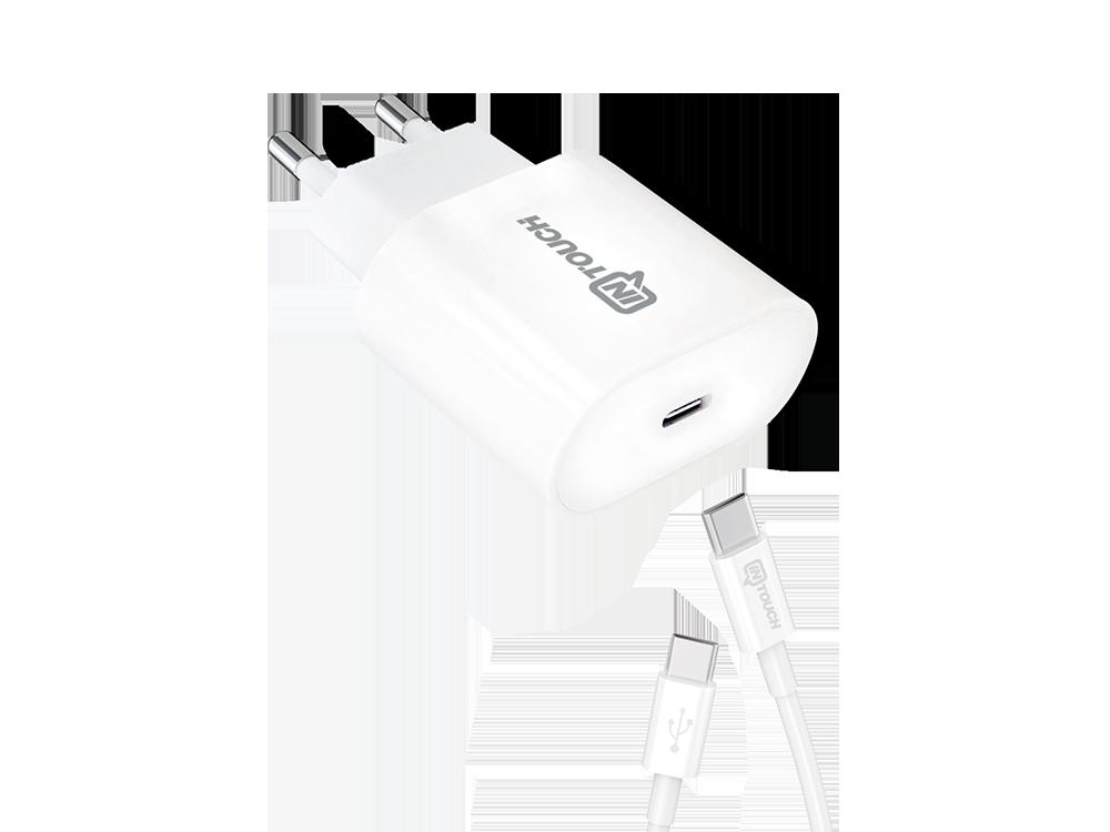Intouch PD 20W Taşınabilir Hızlı Şarj Cihazı Type-C Kablolu