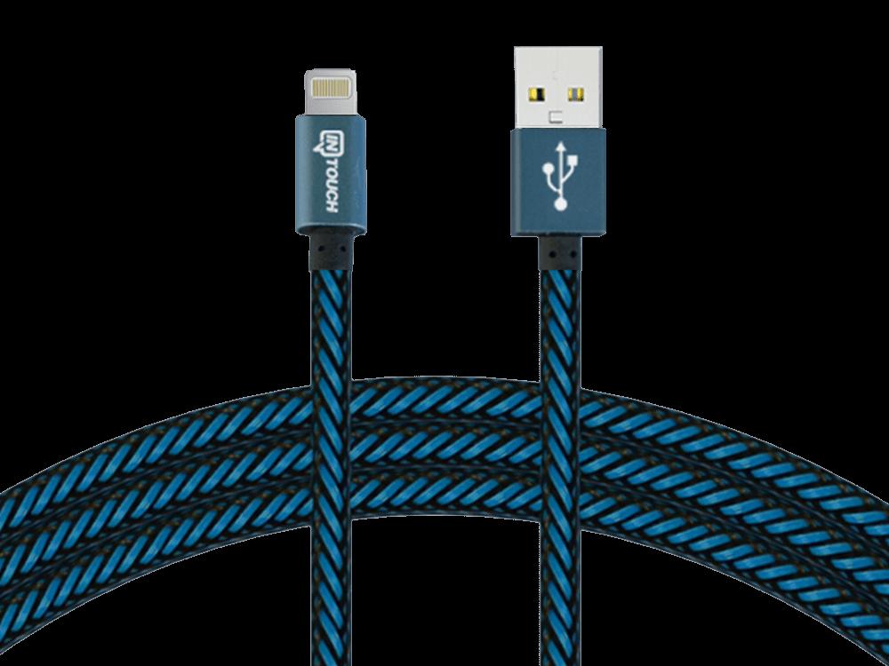 Intouch Pro Plus Lightning Lisanslı Şarj ve Data Kablosu