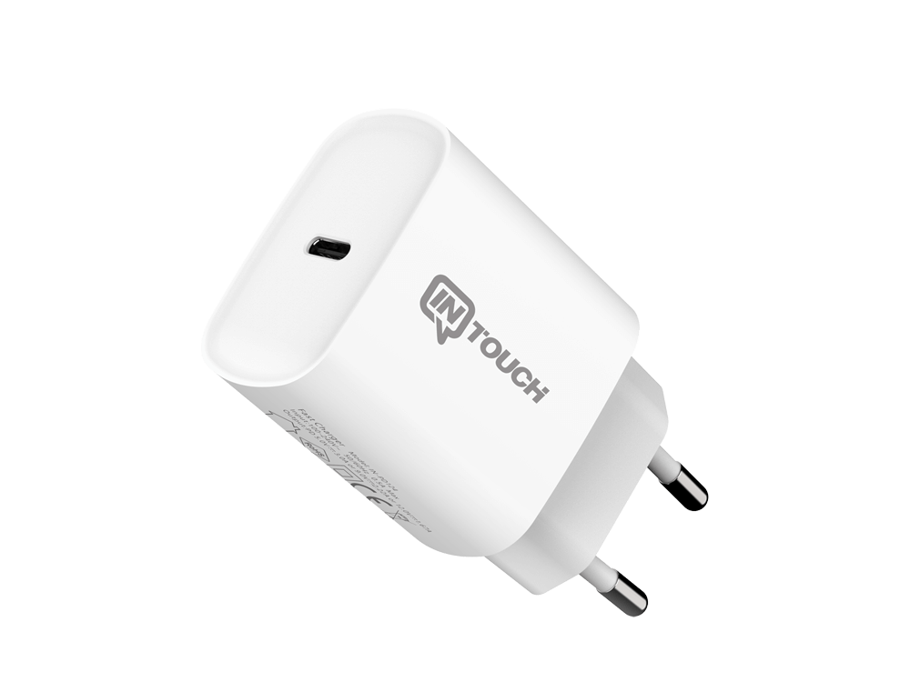 Intouch Smarty PD 20 W TYPE-C USB Hızlı Seyahat Şarj Cihazı