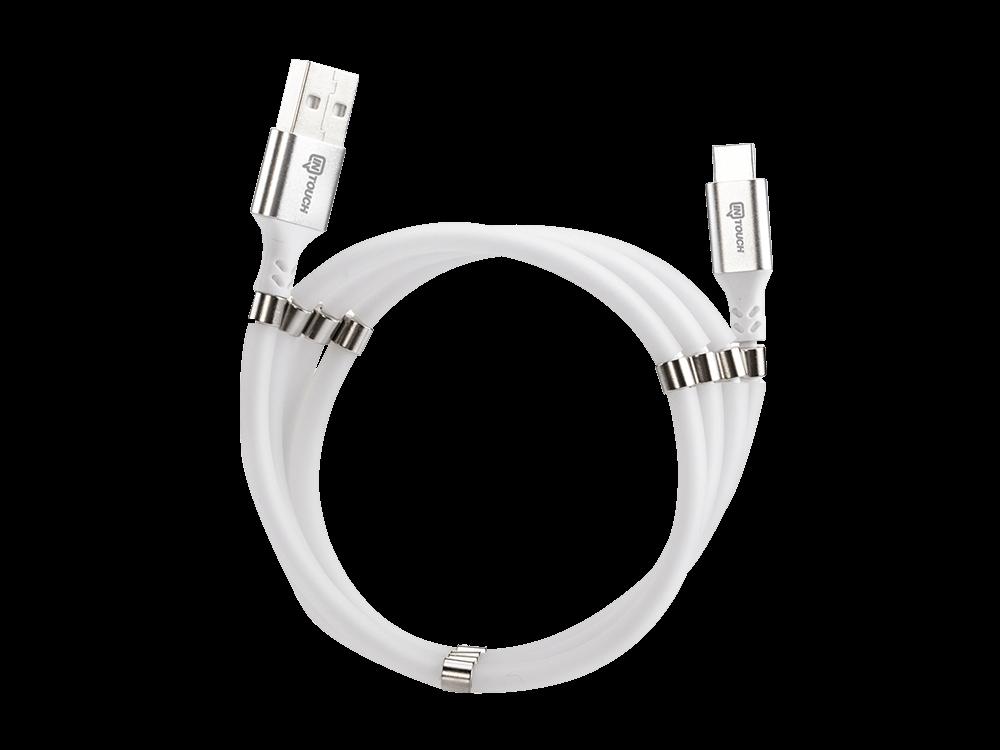 Intouch Type-C Manyetik Mıknatıslı Şarj ve Data Kablosu