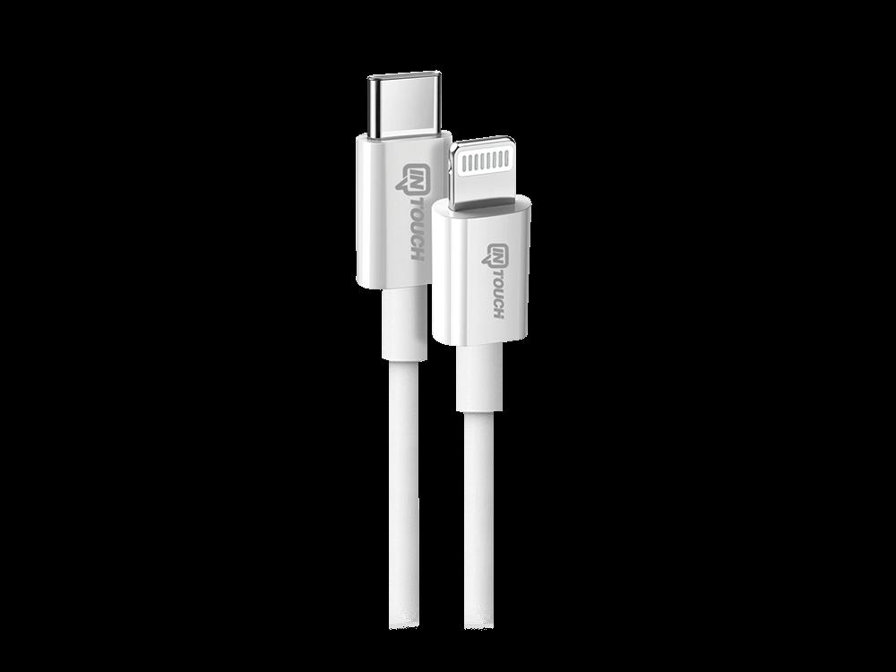 Intouch Type-C MFI Lisanslı Lightning Şarj ve Data Kablosu