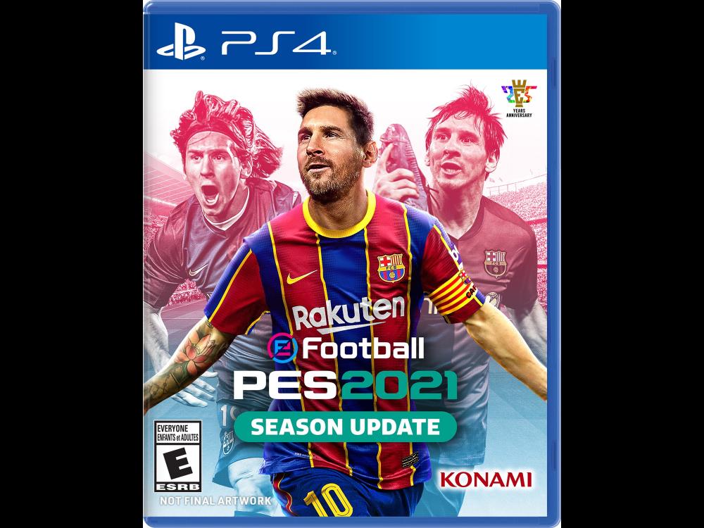 PS4 PES 2021 Season Update