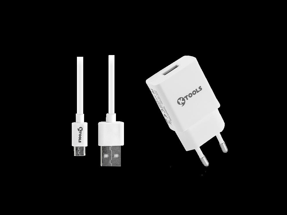Ktools life Micro USB Seyahat Şarj Cihazı