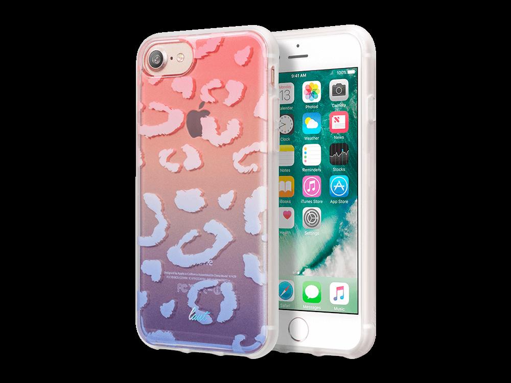 Laut Ombre iPhone 7/8 Desenli Koruyucu Kılıf Mavi