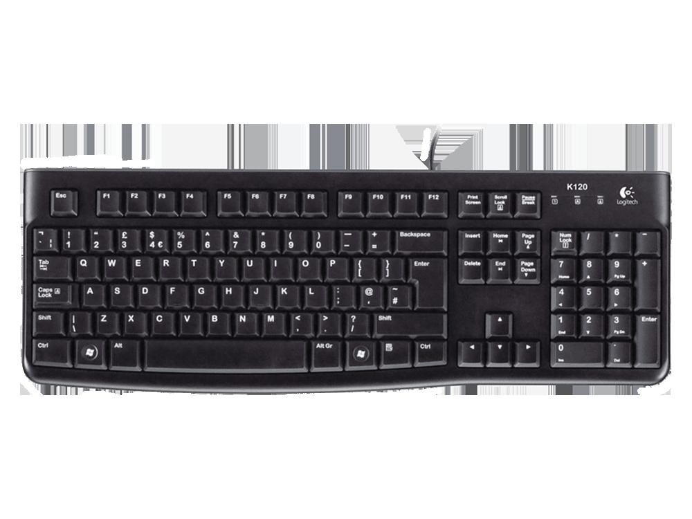 Logitech K120 Kablolu Klavye