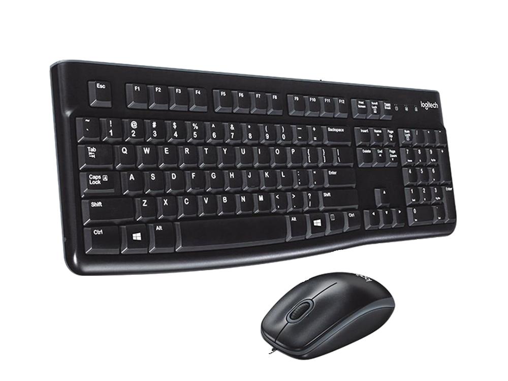 Logitech MK120 Kablolu Klavye ve Mouse Seti