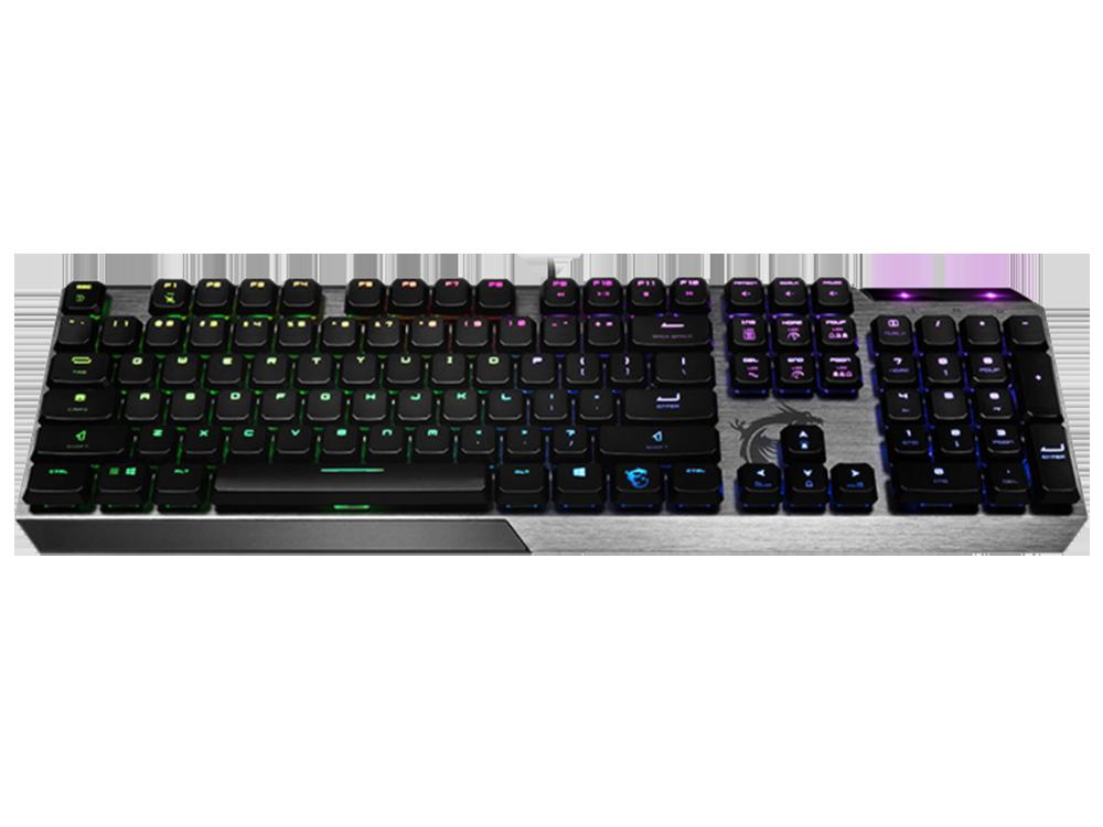 MSI Vigor GK50 RGB Low Profile Mekanik Oyuncu Klavye