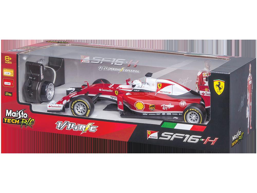 Maisto Tech F1 Ferrari SF16-H Racing 81254 Uzaktan Kumandalı Araba