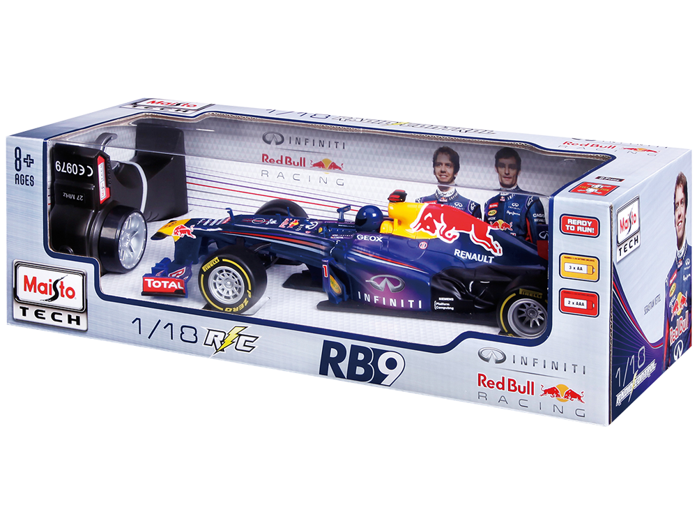 Maisto Tech F1 Infiniti Red Bull Racing RB9 81084 Uzaktan Kumandalı Araba
