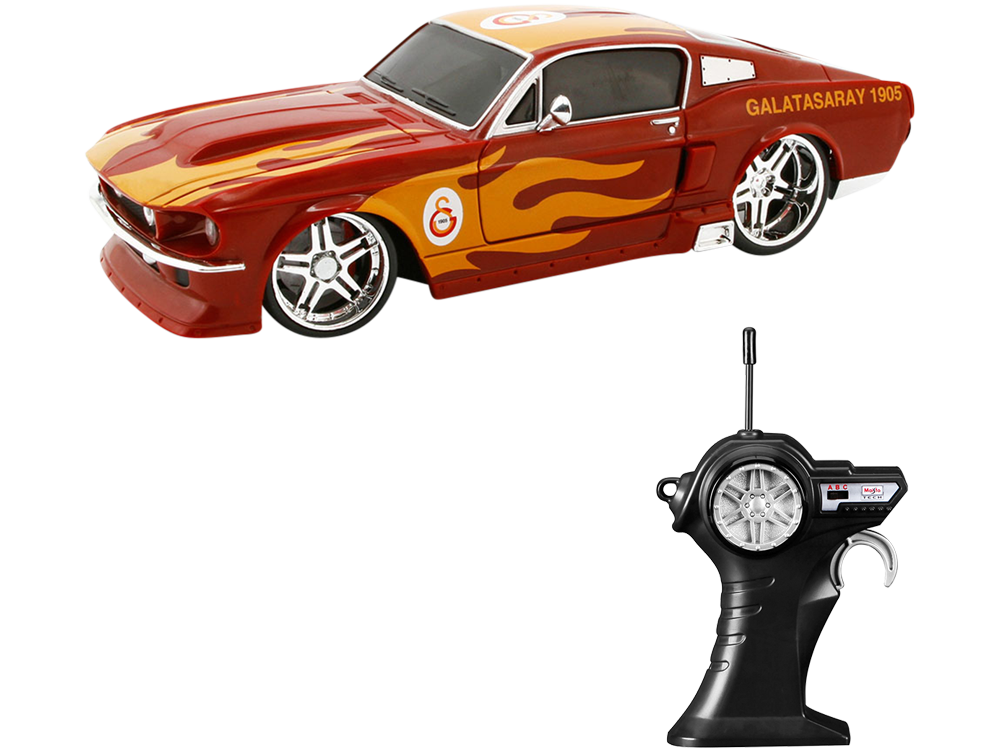 Maisto Tech Galatasaray 1967 Ford Mustang 20050 Uzaktan Kumandalı Araba
