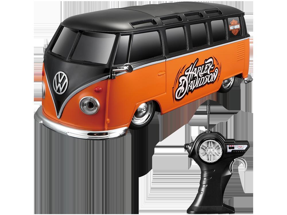 Maisto Tech Harley-Davidson Volkswagen Van Samba 81681 Uzaktan Kumandalı Araba