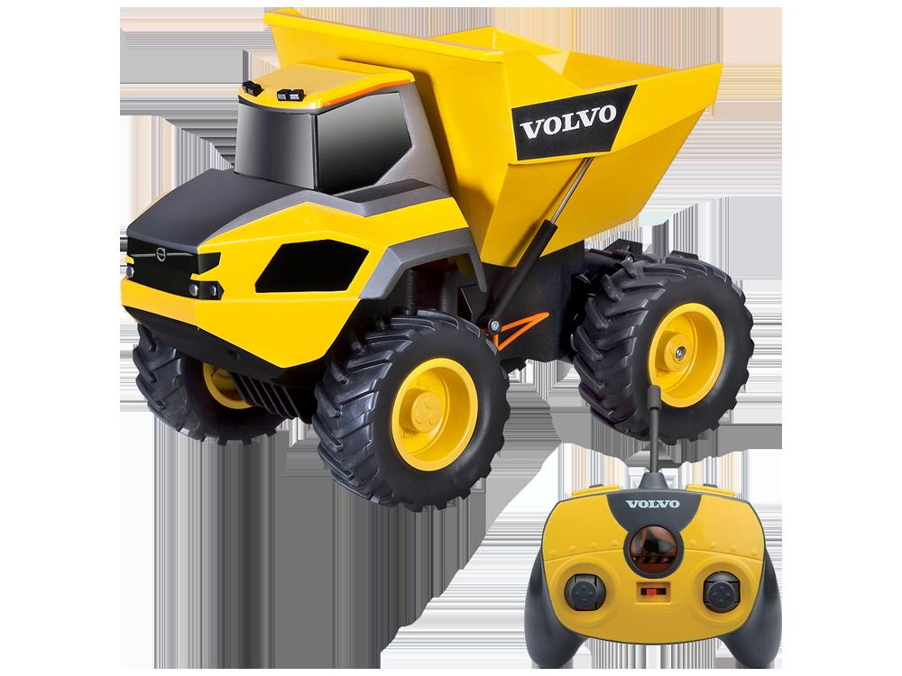 Maisto Tech Volvo Rock Hauler 82056 Uzaktan Kumandalı Damperli Kamyon