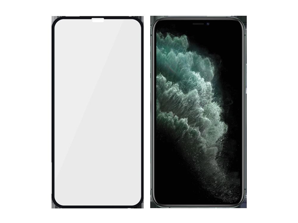 PanzerGlass iPhone Xs Max/11 Pro Max Çerçeveli Cam Ekran Koruyucusu