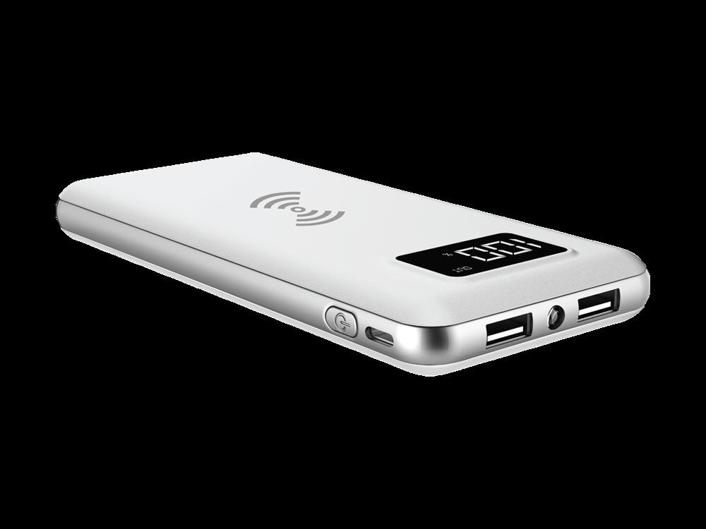S-link IP-G10W LCD Göstergeli Kablosuz Taşınabilir Şarj Cihazı 10000 mAh